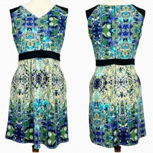 Cynthia Rowley Floral Fit and Flare Dress Size 10